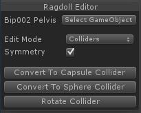 Editing Ragdolls